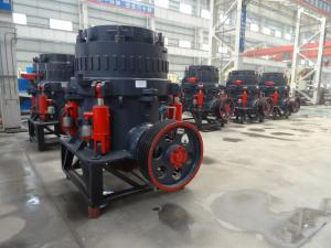 China 4/3 Ft Single Cylinder Hydraulic Cone Crusher / Rock Crushing Equipment For Gold Ore Iron Ore on sale