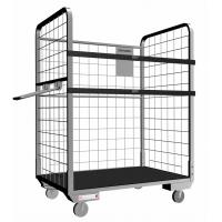 Stainless steel logistics roll cage