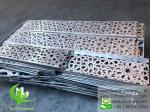Architectural Aluminum Facade Panels / Decorative Metal Sheet Facade laser cut sheet