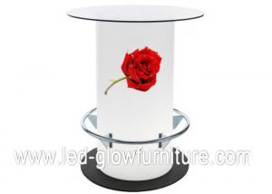China Fashionable LED Bar Tables , outdoor lighted cocktail tables For Wedding Decoration on sale
