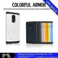 New design colored phone cover TPU+PC phone case for big size samsung Note edge