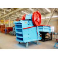Assembled V Type Lime Stone Jaw Crusher Machine Brake Motor With Safety Switch