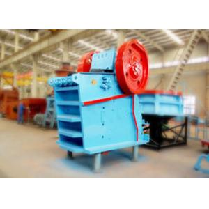 China Assembled V Type Lime Stone Jaw Crusher Machine Brake Motor With Safety Switch on sale