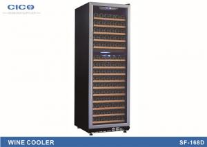 China Large Compact Compressor Wine Cooler / Wine Cooler Fridge Dual Zone on sale