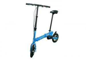 "Quality 12"" Fashion 2 Wheels Lightweight Folding Bike Easy Assembling For Road Traveling for sale"