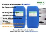 Technical Grade Bacterial Alpha Amylase Enzymes In Paper Industry With HALAL Certificaate