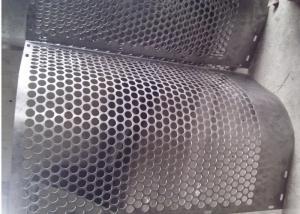 China Round Hole Shape Perforated Metal Sheet Zinc Coating 40 G HDG  Punching on sale