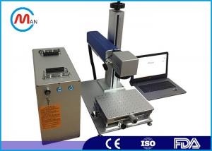 China Portable mini 20w CO2 laser marking system machine for plastic bottle on sale