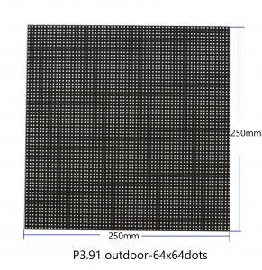 China P3.91 Dot Matrix LED Display Module 64x64 Dots 250mm X 250mm 5V Input Full Color on sale
