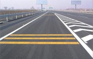 China Rapid Dry Road Line Marking Paint Resins 100% Solid Content Wash Out Resisrtance on sale