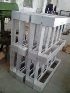 China 2-Way Entry Type and Single Faced Style aluminum pallets on sale