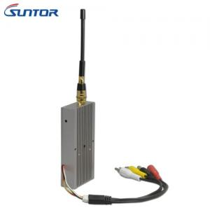China 1.2GHz Mini 7.5W 12CH 1000m Hd Wireless Video Sender Receiver For Analog Camera on sale