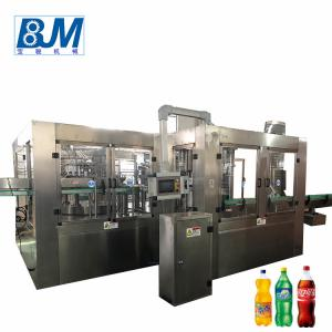 China Automatic Cold Drink Bottle Filling Machine / Carbonated Water Filling Machine on sale