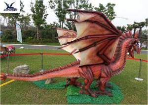 China Amusement Equipment Dinosaur Lawn Statue Facility Lawn Artificial Dragon Statues on sale