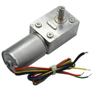 China 32mm Brushless DC Worm Gear Motor 24V for Precision Equipment / Household Appliances on sale