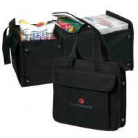 China Custom Printed Promotional Item: 30 Can Cooler/Trunk Organizer on sale