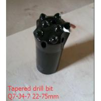 Q7-34-722-75mm tapered carbide rock button industrial drill bits