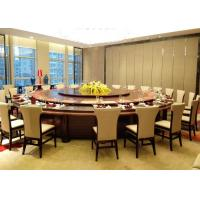 China Big Round Luxury Commercial Restaurant Furniture With Contemporary Dining Chairs on sale