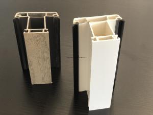 China Casement Window UPVC Building Materials , 5.85 Decoration Plastic Extrusion Parts on sale