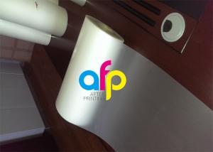 China Custom Size Polyester Laminating Film?, 18 - 250 Micron Thermal Matte PET Film on sale