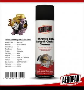 China 450ml Car Cleaning Products , Carburetor Cleaner SprayFor Pvc Valve Grease on sale