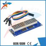 8 Digital Led Display Module 8 Parallel 595 Driver Blue Digital Control Circuit Board