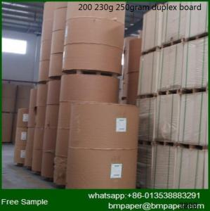 China Paper Mill C1S White Duplex Paper Card Board with low price on sale