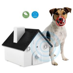 China Birdhouse Outdoor ultrasonic dog bark control Deterrent Control Unit Trainer Device on sale