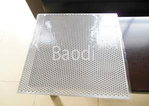 China Decorative Stainless Steel Perforated Sheet Round Hole 60 Staggered SS304 / SS316 on sale
