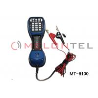 TS52 Pro Telephone Test Set with LCD , Lineman butt testing set