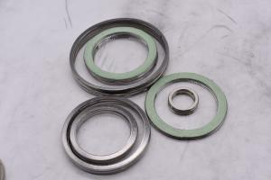 China ASME B16.20 Spiral Metallic Gasket , Inner Ring Gasket Good Resilience on sale