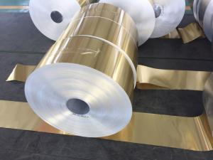 China Alloy 8011 ,1100 Hydrophilic Aluminum Foil 0.105MM With Various Width on sale