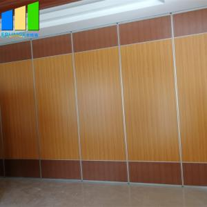 China Plywood Sound Proof Partitions Board Folding Wood Sliding Door Movable Folding Doors Room Dividers on sale