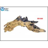 China Aquarium Resin Driftwood Ornaments , Handmade Tree Root Aquarium Decaration on sale