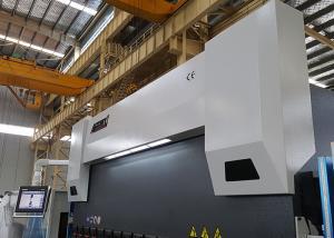 China Safety PLC Control 400 Ton Press Brake , Hydraulic Metal Brake 4 Axis With Delem DA58T on sale