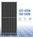 Bifacial Mono Solar Panel PV Module 400W 500W 550W 156mm*156mm Cell