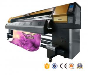 China 2017 top sale year 3.2m printhead dx5 eco solvent printer banner uv printing machine for  fabric factory  AP-3300S supplier