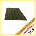 antique surface brass extrusion profiles floor nosing