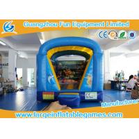 4*3m 0.55mm PVC Inflatable Bouncy Castle With Seaworld Printing