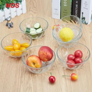 China High quality cheap antique diamond glass fruit bowls on sale