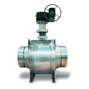 China PN 16 Class 150 Trunnion Mounted Ball Valve VW1 Control Valve With Positioner on sale