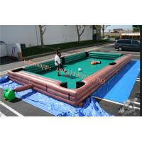 inflatable billiard table , inflatable human foosball , human foosball sacco ,  human inflatable ball pool table soccer