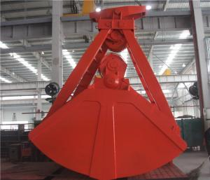 China 20m³  Four Ropes Mechanical Clamshell Grab for Port Loading Coal and Bulk Materials on sale