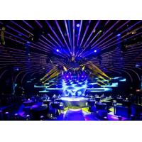 SMD P3.91 / P4.81 Rental LED Display hd stage background video / night club 65746 dot/㎡