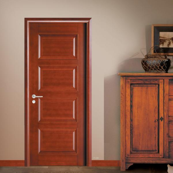 Cheap Price China Manufactures Teak Solid Wood Doors