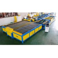 Hot sale U shape air duct manufacturing auto line V leveling and bending machine