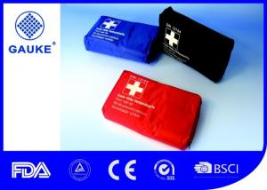 China Durable First Aid Emergency Kit , All Purpose Car First Aid Box For Auto on sale
