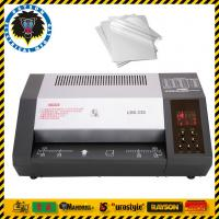 China 6 Rollers Office Laminating Machine A3 A4 A5 A6 Size Heating Elements Laminator on sale