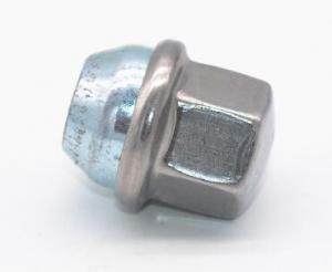 China M14 * 1.5 Nut Wheel Stainless Steel Lug Nuts Zinc Plate Surface ISO10664 on sale