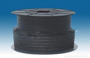 China Le graphite flexible a tressé l'emballage de glande de PTFE pour des pompes/valves on sale